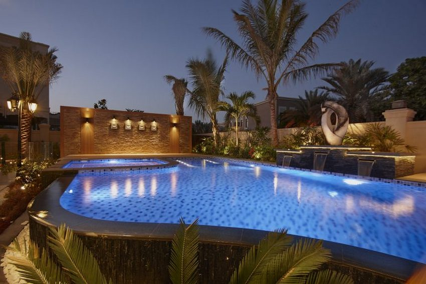 pool decoration and design