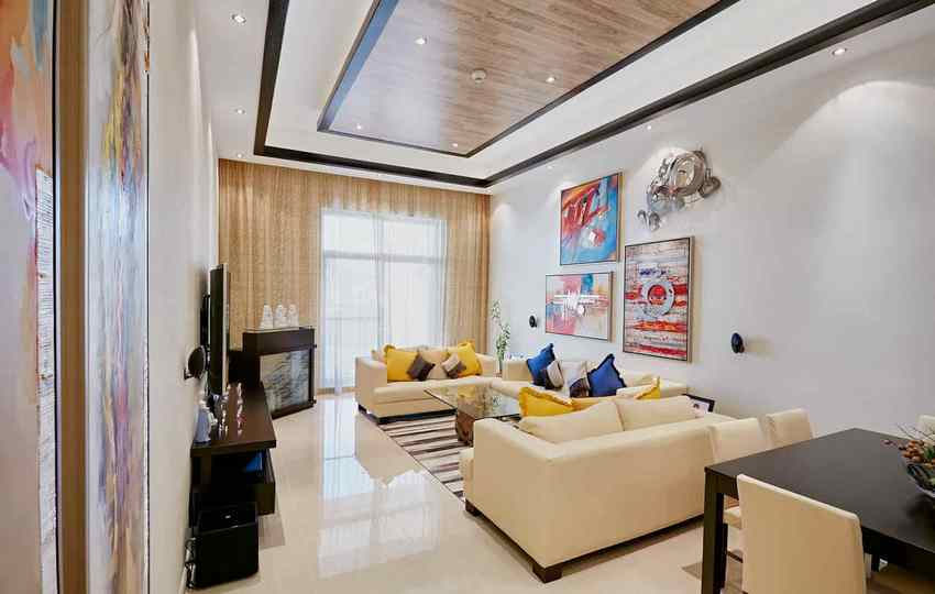 materials for living room interiors