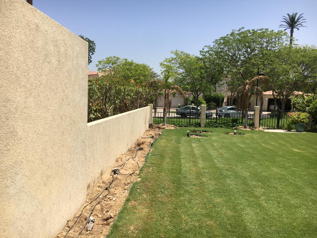 outdoor space of MBR City and Landscaping Project