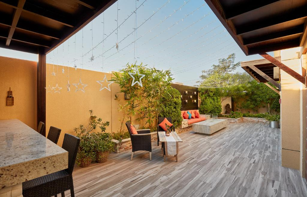 flexible design of landscaping project